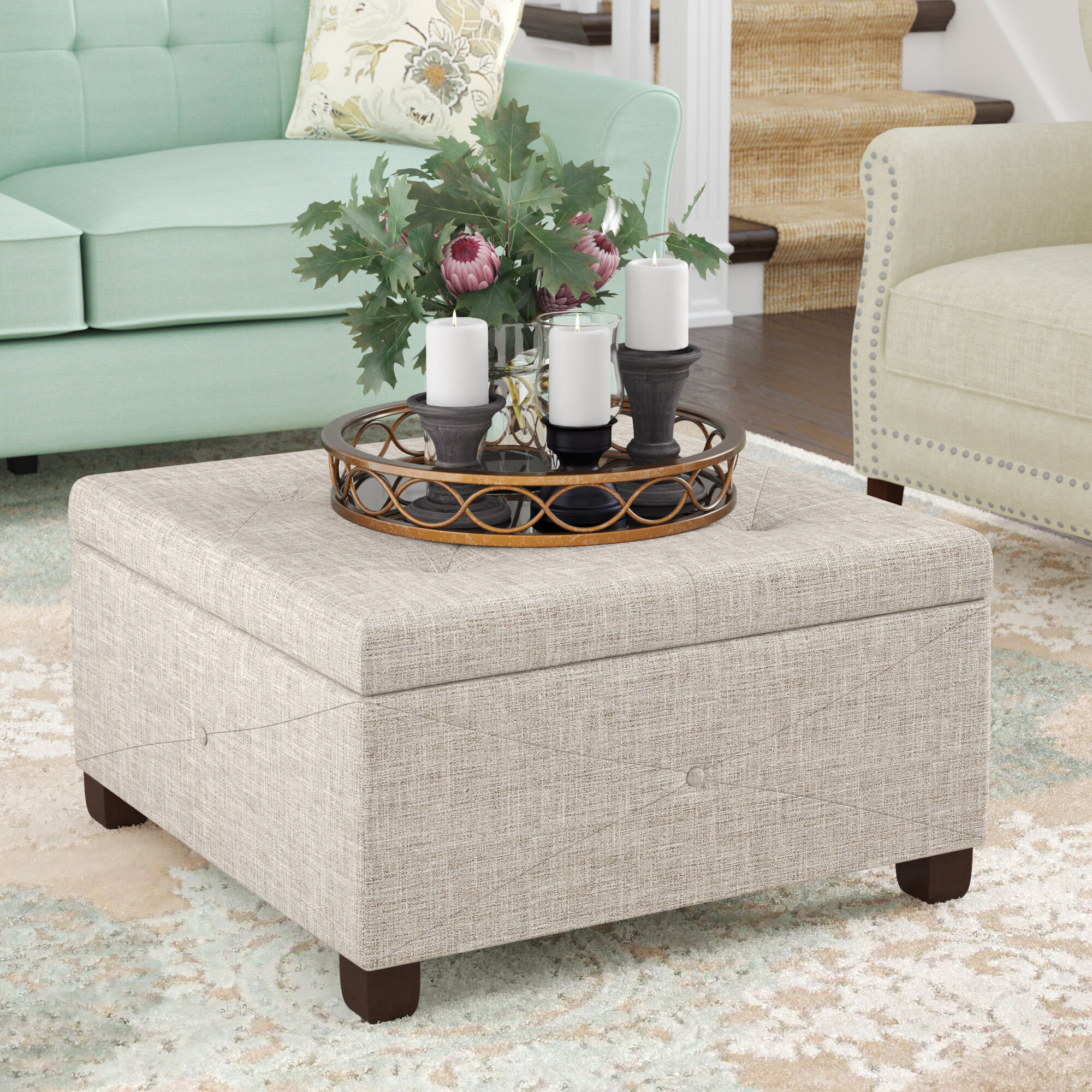 - Darby Home Co Bantom Tufted Storage Ottoman & Reviews Wayfair