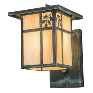 Big Save Yother Single Branch Leaf Outdoor Wall Lantern By Loon Peak
