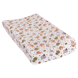 Traub Friendly Forest Deluxe Flannel Changing Pad Cover ByHarriet Bee