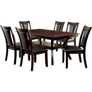 Wilburton 7 Piece Dining Set DarHome Co