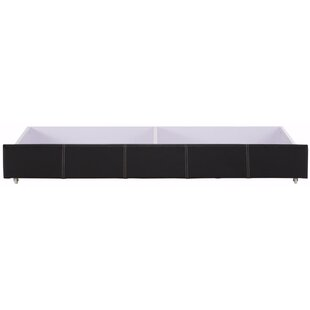 Black Cloister Underbed Storage Drawer By Ophelia & Co.