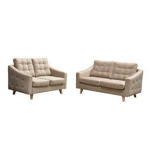 Iona 2 Piece Sofa Set By Mercury Row