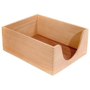 Carver Wood Products, INC. Desk Tray, Wood, 5
