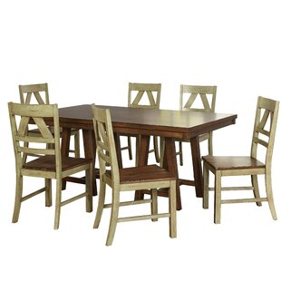 Castleford 7 Piece Dining Set August Grove