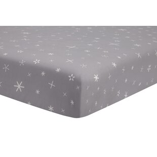 Galaxy Galactic Stars Fitted Crib Sheet Bybabyletto