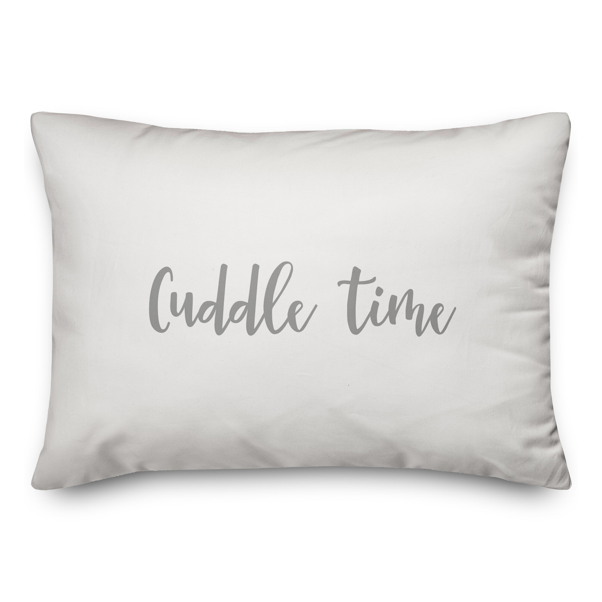 Ebern Designs The Lyell Collection Cuddle Time Throw Pillow Wayfair