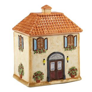 3D Villa House Cookie Jar