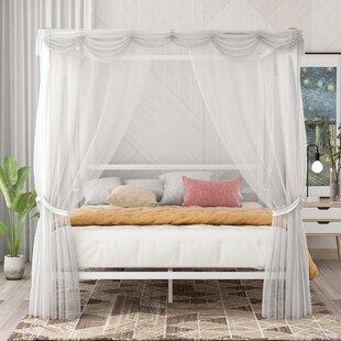 Clemton Queen Canopy Bed