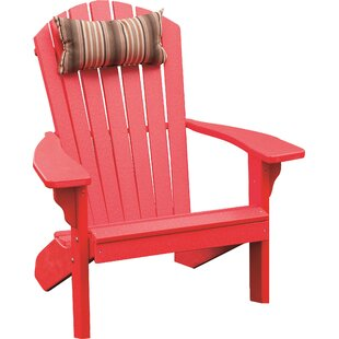 Beachcrest Home Analia Plastic Adirondack Chair