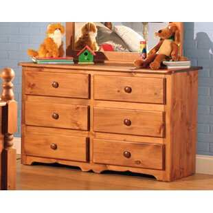 Compare prices Conway 6 Drawer Double Dresser by Chelsea Home Furniture