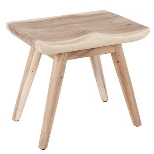 Fitch Organic Seat Wood Bench By Natur Pur