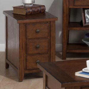 Bonniebrook End Table With Storage by Loon Peak