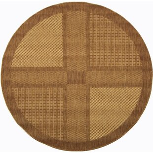 Barhill Large Bo Outdoor Rug In Round 5 3