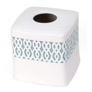 Check Prices Watercolor Lattice Tissue Box Cover BySaturday Knight, LTD