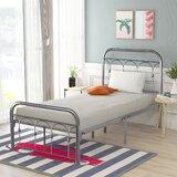 Greenwich Metal Platform Bed by Red Barrel Studio®