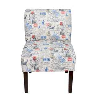 Winston Porter Brannan Primary Natural Slipper Chair