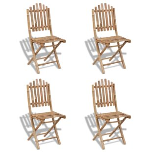 Foldable Garden Chair Set (Set Of 4) Image