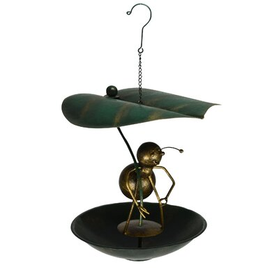 Ant Leaf Umbrella Bistro Decorative Bird Feeder Gift Essentials