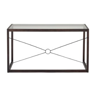Sulligent Tempered Glass Writing Desk