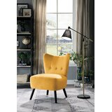 Holeman Velvet Slipper Chair by George Oliver