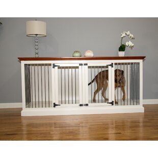 Damien Double Wide Large Credenza Pet Crate by Archie & Oscar