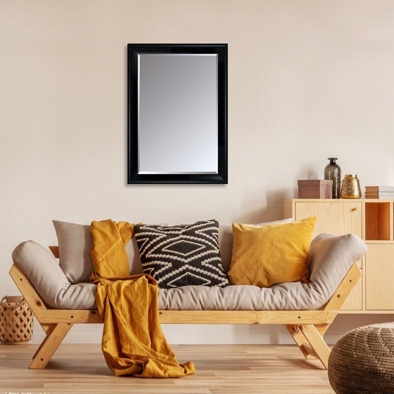 Red Barrel Studio Spak Modern Beveled Accent Mirror Wayfair