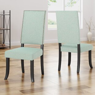 Callihan Upholstered Dining Chair (Set of 2) House of Hampton