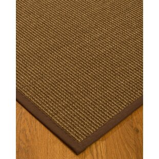 Kimbolton Hand-Woven Brown Area Rug by Bayou Breeze