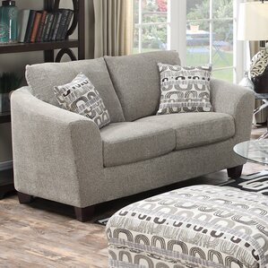 Natalya Contemporary Loveseat by Zipcode Design