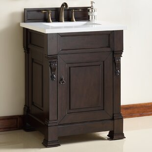 Brookfield 26 Single Bathroom Vanity Base by James Martin Furniture