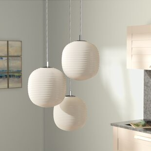 Crowder 3-Light Pendant by Brayden Studio