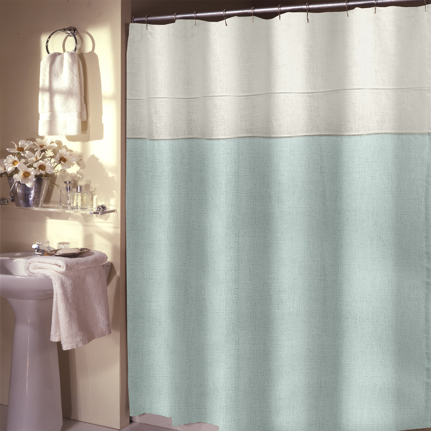 Darby Home Co Teo Shower Curtain | Wayfair