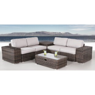 Izzo 8 Piece Sectional Set with Cushions