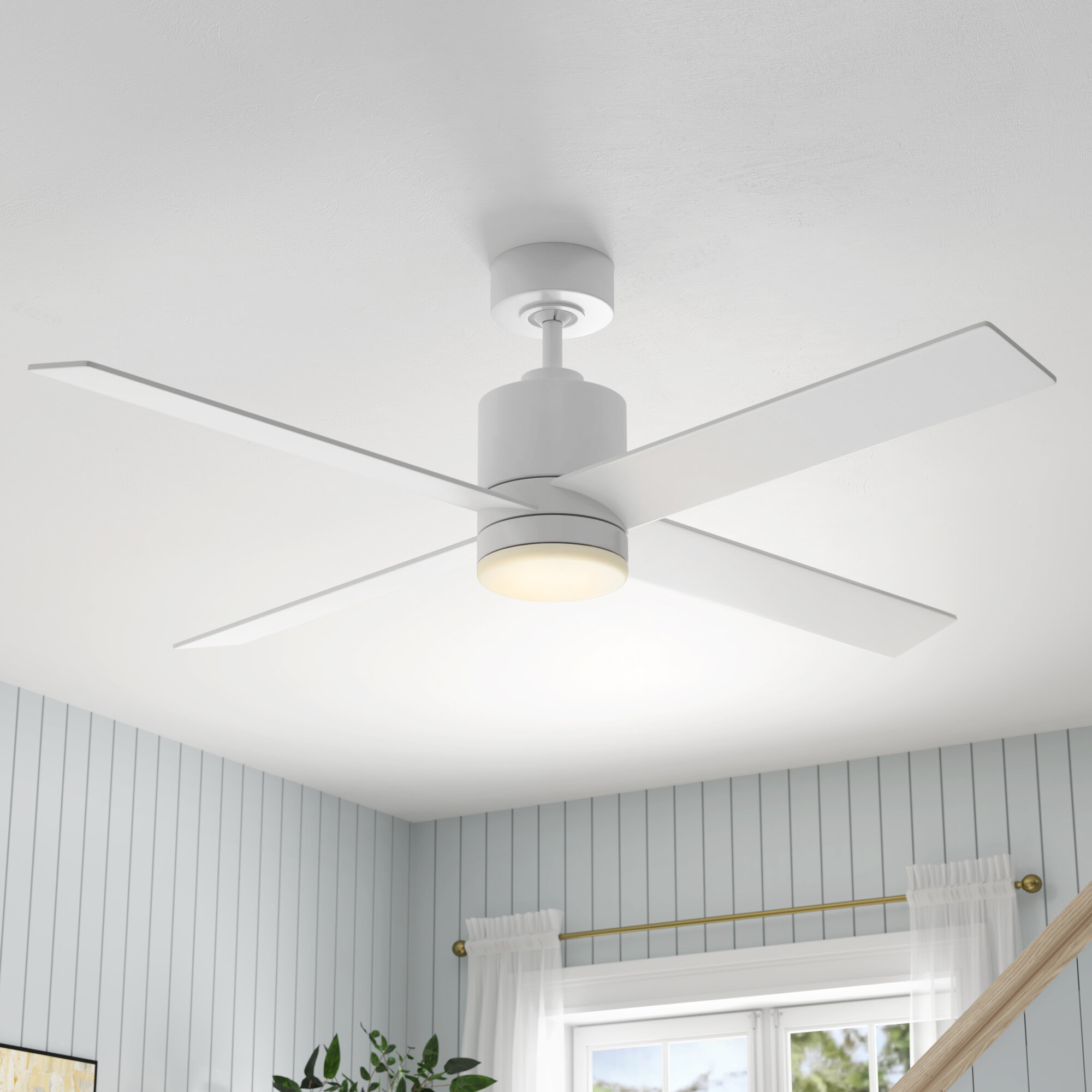 Ceiling Fan Speed Control For One Of Those 3 Or 4 Blade Decorative