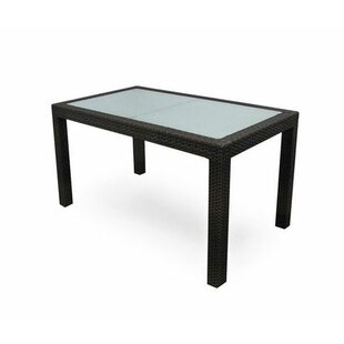 Lasater  Glass Dining Table by Brayden St..