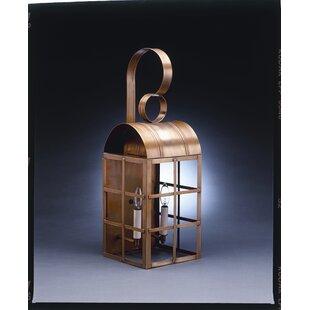 Deals Adams 1-Light Outdoor Wall Lantern By Northeast Lantern