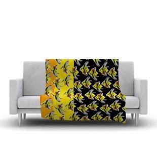 Top Reviews Ivan Joh Bananas Painting Fleece Blanket ByEast Urban Home
