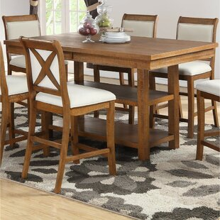 Gracie Oaks Trisha Counter Height Dining Table