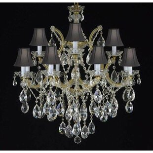 Astoria Grand Alvarado 7-Light Shaded Chandelier