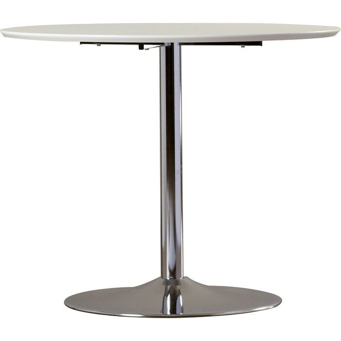 zipcode design ember metal base dining table & reviews | wayfair.ca