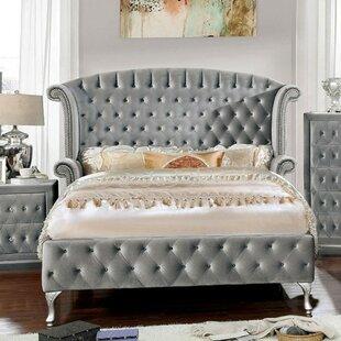 Shop For Saroyan Transitional Upholstered Platform Bed by Rosdorf Park Reviews (2019) & Buyer's Guide