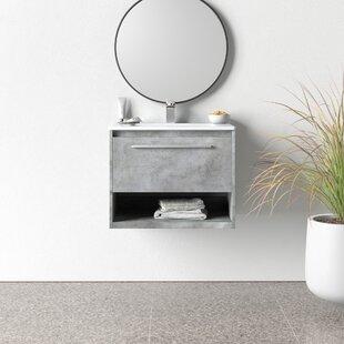 Modern 1 Drawer Wall Mounted Bathroom Vanities Allmodern