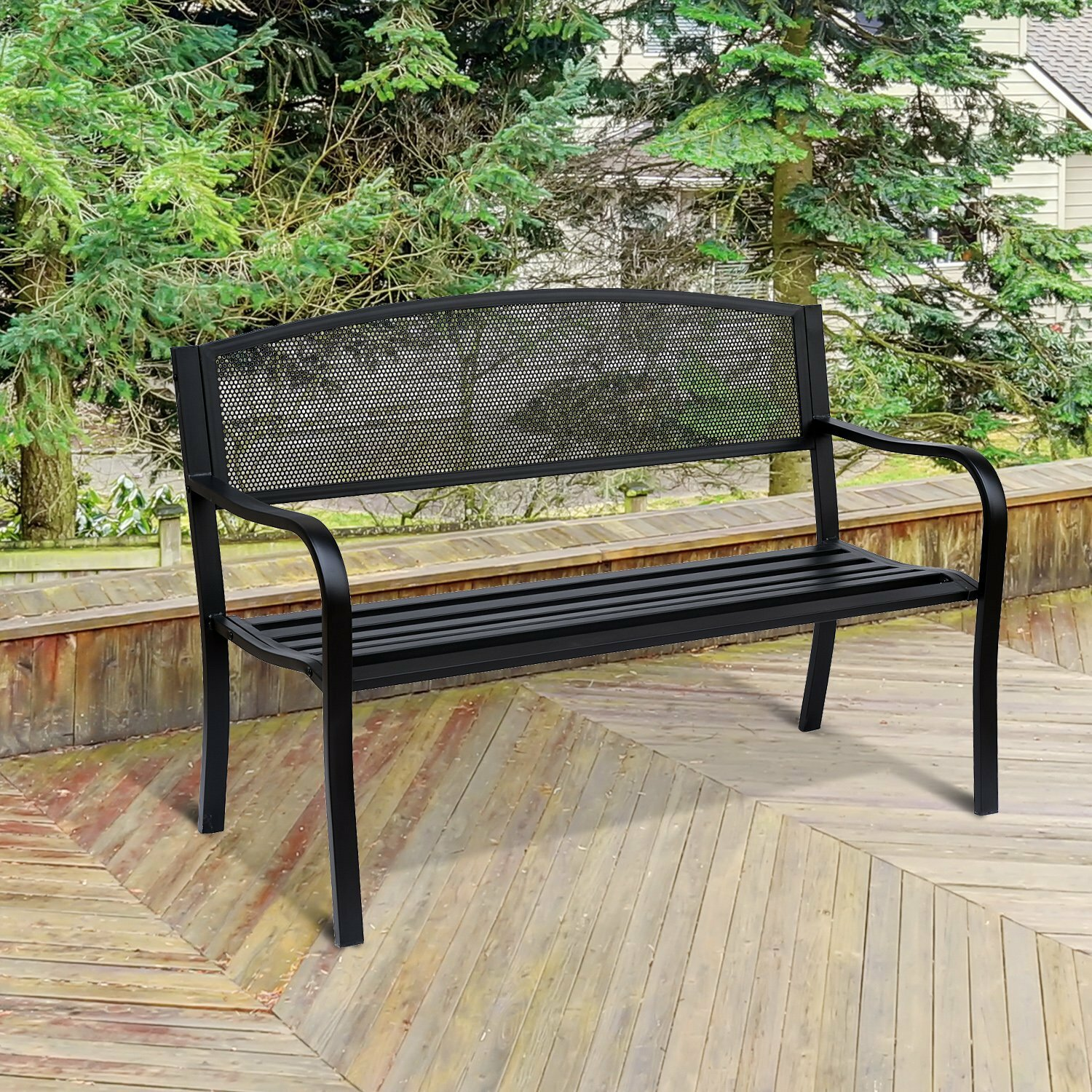 and tiger bench rehab modern interiors wood vintage custom woodbench steel