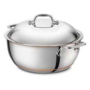 5.5 Qt. Stainless Steel Round Dutch Oven