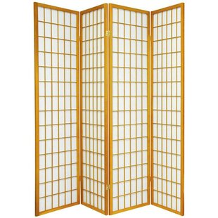 World Menagerie Marissa Shoji 4 Panel Room Divider