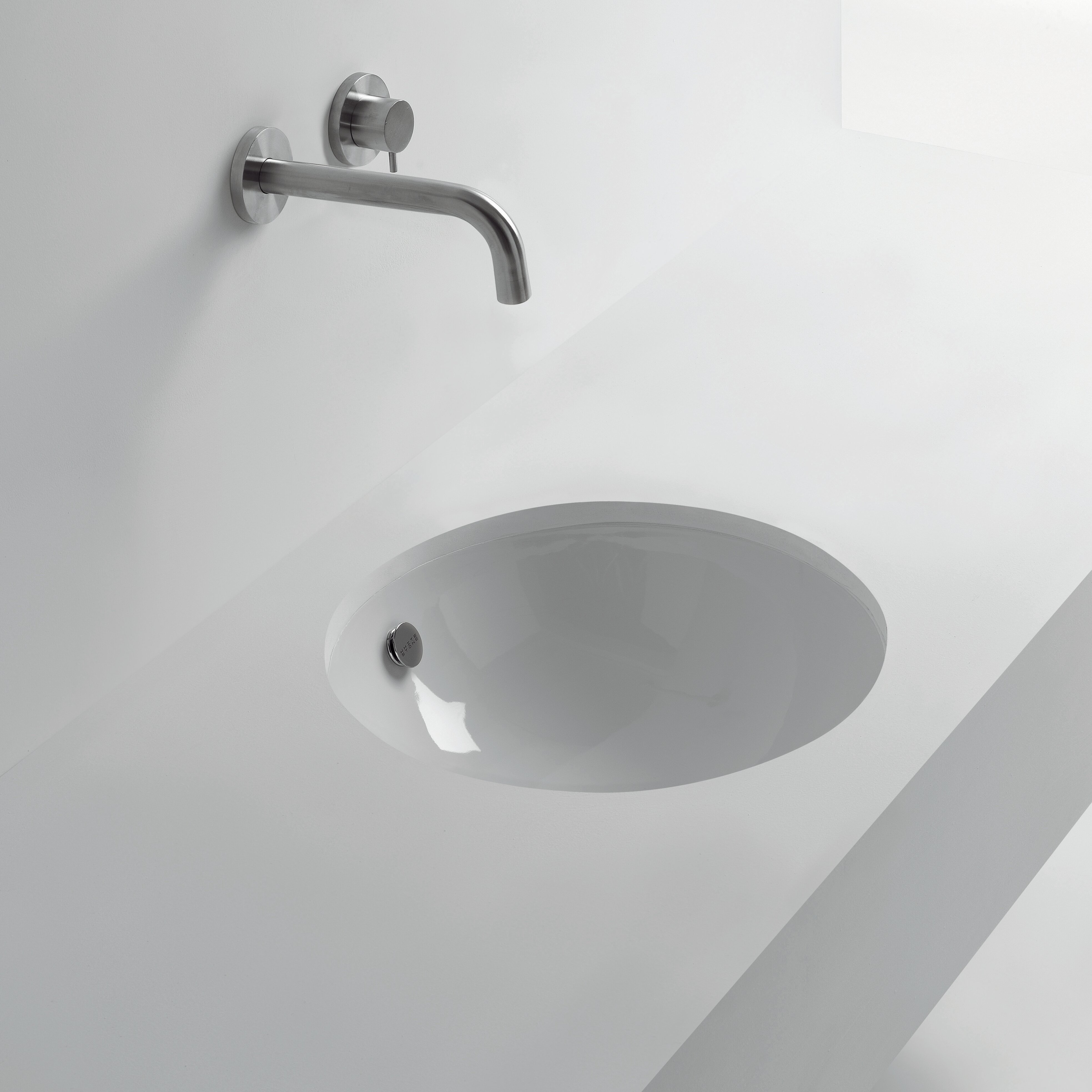 Ws Bath Collections Pot Ceramic Ceramic Circular Undermount Bathroom Sink With Overflow Perigold