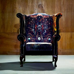 Cale Wingback Chair By Williston Forge
