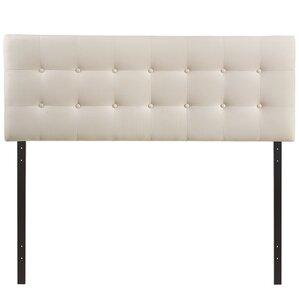 corneau upholstered panel headboard - White Queen Headboard
