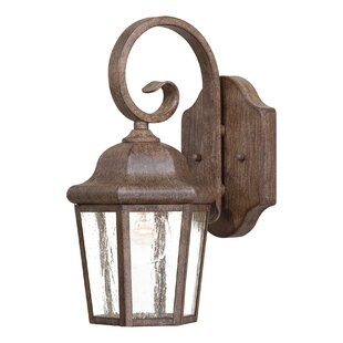 Great Outdoors by Minka Taylor Court 1-Light Outdoor Wall Lantern