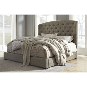 Almont Upholstered Panel Bed by Darby Home Co